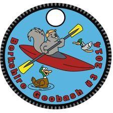 Pathtag #29859 - Berkshire Geobash # 3 (2014) Kayaking Squirrel