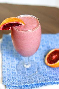 Blood Orange Mango Smoothie