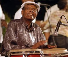 """KING of the Congas"" Tata Guines, Cuba's most famous percussionist"