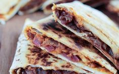 Pumpkin, Apple, and Caramelized Onion Quesadillas [Vegan] | One Green Planet