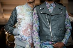 Youth and pop culture provocateurs since Fearless fashion, music, art, film, politics and ideas from today's bleeding edge. Pop Culture, Bomber Jacket, Menswear, Mens Fashion, Backstage, Boys, Joker, Jackets, Digital
