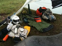 Here are some tips and tricks about how to pack for motorcycle camping, as well as a complete list of the gear I carry while adventure touri...