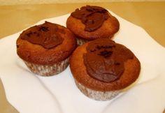 Banános-háromcsokis muffin