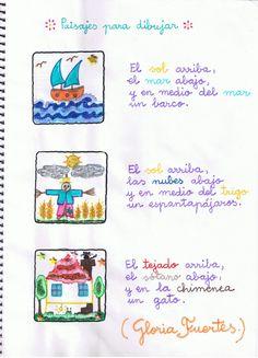 Paisajes para dibujar -- Gloria Fuertes