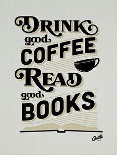 Yes! #coffee #books @Kelli Rose