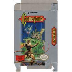 Castlevania - Empty NES Box