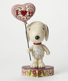 Another great find on #zulily! Peanuts Love Snoopy Figurine #zulilyfinds
