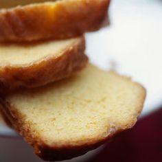 Gâteau à la fleur d'oranger et poudre d'amande