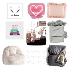 """""""Untitled #10"""" by camccullagh on Polyvore featuring interior, interiors, interior design, home, home decor, interior decorating, Studio Mercantile, Rizzy Home and PBteen"""