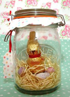 An Easter bunny Kilner Jar! The perfect gift for Easter this year.