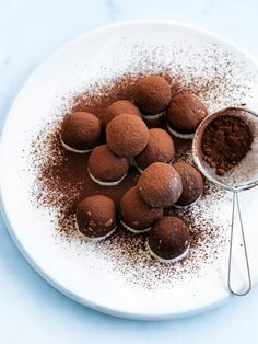 Oat And Coconut Chocolate Truffles | Donna Hay