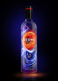 Ozone Vodka Limited Night Party Edition on Packaging of the World - Creative Package Design Gallery