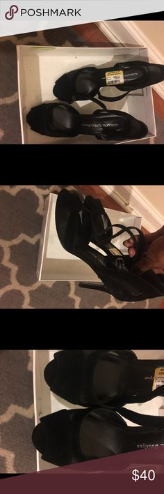 Black high heels Adrianna Pappel black shoes never worn. Adrianna Papell Shoes Heels