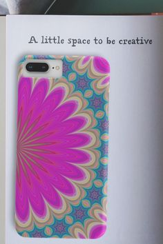 Reminder to take a break and make something that you find relaxing👩🎨 Phone case for iPhone or Samsung. Phone Covers, Mandala, Iphone Cases, Samsung, Pearls, How To Make, Mobile Covers, Beads, Iphone Case