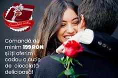 Intră acum pe www.floridelux.ro, comandă de minim 199 RON și primești cadou o cutie de ciocolată delicioasă! O surpriză minunată care se potrivește perfect cu florile tale preferate! FlorideLux.ro îți aduce mereu cele mai bune promoții! Livrare oriunde in Romania!
