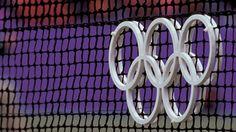 Olympic Tennis 2012 at Wimbledon