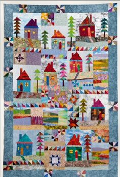 Another lovely quilt from Katharine Guerrier. This has a dead link, but still a good quilt for inspiration.