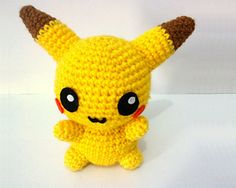 Ravelry: Pikachu Pokemon Amigurumi pattern by Erin Huynh