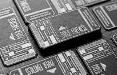 Paper Fortress Business Cards