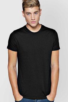 #FashionVault #boohoo #Men #Tops - Check this : boohoo Basic Crew Neck T Shirt - black for $ USD