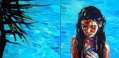 ArtAffair – Galerie für moderne Kunst | Anna Bocek: Ocean
