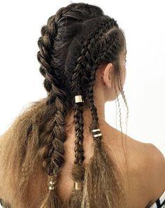 Mixed braids by Jacque Morrison