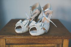 Rachel Simpson T Bar Bow Shoes Bride Bridal Informal Cosy Christmas Barn Wedding http://jonathanryderphotography.com/