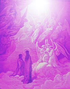 Archangels Zadkiel and Holy Amethyst