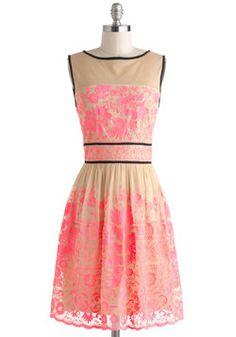 Vivid Dreamer Dress, #ModCloth