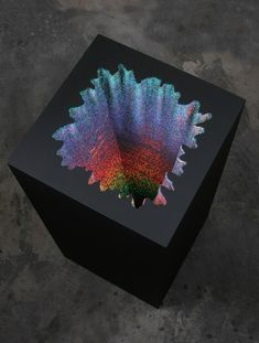 Holographic Square by Jen Stark