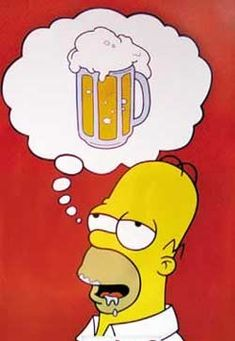Homer Simpson by buffman on DeviantArt Simpsons Drawings, Simpsons Art, Homer Simpson Beer, Homer Simpson Drawing, Homer Simpson Quotes, Radler Bier, Simpson Wallpaper Iphone, Simpsons Characters, Beer Quotes