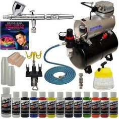 10 Piece Airbrush Set,Compressor to Airbrush Ultimate set of Airbrush Connectors