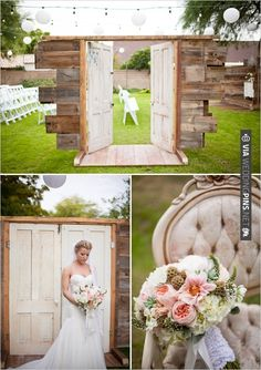 shabby chic wedding | VIA #WEDDINGPINS.NET