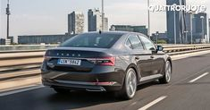 Just four years after the debut of the third-gen model, Skoda's flagship is set for another makeover. What would have happened if Skoda had become the new Volkswagen, Transport, Volkswagen, Models, Cars, Templates, Vehicles, Autos, Modeling, Car