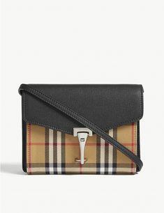 1084835f427 BURBERRY - Baby Mackenzie leather cross-body bag   Selfridges.com Leather  Crossbody Bag