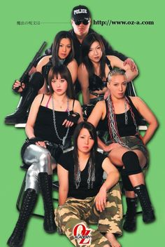Some of the best female wrestlers in Japan, Oz Academy Women's Professional Wrestling