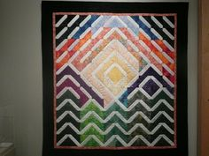signature quilt - do in the wedding colors or to match the home dec scheme(s)