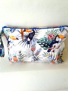 tucan pattern wet bag Wet Bag, Fashion Fabric, Mini Bag, Etsy Seller, Creative, Unique, Pattern, Bags, Handbags