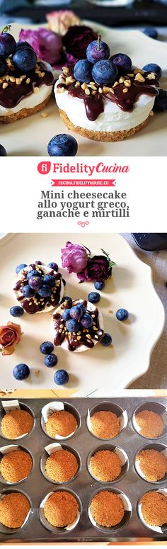 New cheese cake ricetta monoporzione 19 Ideas Mini Cheesecakes, Cheese Recipes, Cooking Recipes, Cheese Appetizers, Sweet Cakes, Creative Food, Flan, Cheesecake Recipes, Diy Food