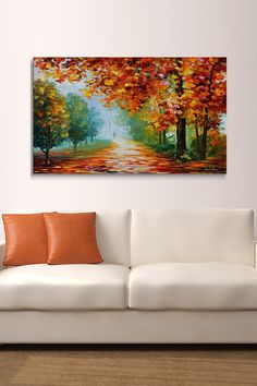 """Evanescing Sight"" by Leonid Afremov Painting Print on Wrapped Canvas"