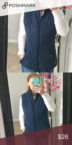 Blue vest. Fleece on the inside. Waterproof and very comfortable! Weatherproof Jackets & Coats Vests