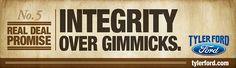 Tyler Ford - Integrity over Gimmicks
