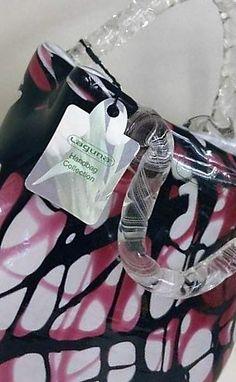 Laguna Handbag Collection A beautiful glass ornament . Definately a collectors item