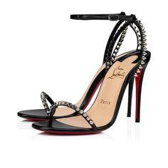 Christian Louboutin OFF!>> Womens New Arrivals - Designer Shoes Handbags - Christian Louboutin Online Boutique Louboutin Online, Red Bottom Heels, Christian Louboutin Outlet, Fashion Heels, Fashion Outfits, Open Toe Sandals, Black Heels, High Heels, Black Silver