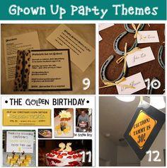Adult Birthday Ideas