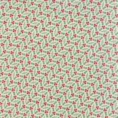 25th and Pine Holly in Tinsel, BasicGrey, 100% Cotton, Moda Fabrics, 30365 11