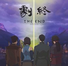 Now this is the ending I wanted. No underdeveloped shocking relationship. Just Team Avatar.