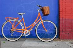 What is it about these bikes? LOVE THIS! Orange PUBLIC J7