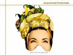 Unique Carmen Miranda Printable por AmazingPartyShop en Etsy