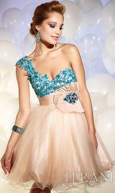 A-line One-shoulder Applique Short Champagne Dress, prom dresses under cheap prom dresses under 100 Sweet 16 Dresses, Dresses Uk, Cute Dresses, Beautiful Dresses, Evening Dresses, Short Dresses, Formal Dresses, Bridal Dresses, Bridesmaid Dresses